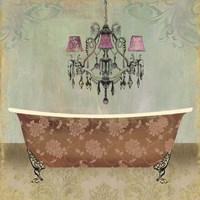 Boudoir Bath I Fine Art Print