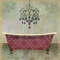 Boudoir Bath II Fine Art Print