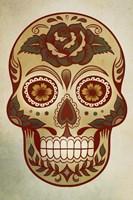Day of the Dead Skull I Fine Art Print