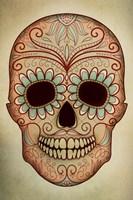 Day of the Dead Skull II Fine Art Print
