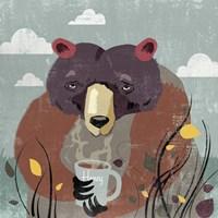 Honey Bear Fine Art Print