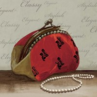 Red Bag Fine Art Print
