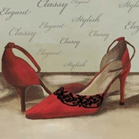 Red Pumps Fine Art Print