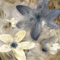 Ink Drip Floral II Fine Art Print