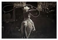 American Cowgirl Fine Art Print