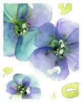 Blue Flowers Fine Art Print