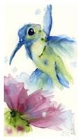 Lilac and Blue Fine Art Print