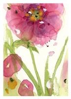Pink Wildflower Fine Art Print