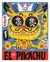 Magic Japanese Cockfighting Fine Art Print