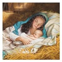 Mary & Baby Jesus Fine Art Print