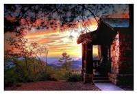 Grand Canyon Cabin Fine Art Print