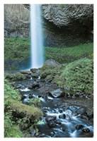 Oregon Waterfall Fine Art Print