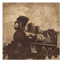 Train Travel Fine Art Print