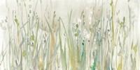 Autumn Grass Green Fine Art Print