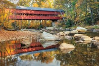 Swift River Covered Bridge Fine Art Print