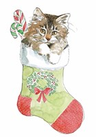Christmas Kitties IV Fine Art Print