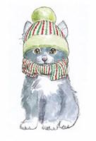 Christmas Kitties II Fine Art Print