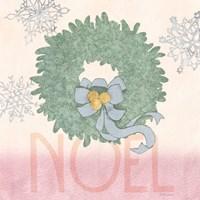 Pastel Christmas IV Fine Art Print