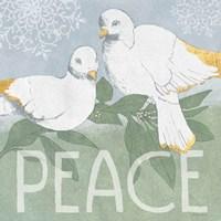 Pastel Christmas II Fine Art Print