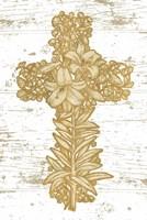 Holiday Cross I Fine Art Print