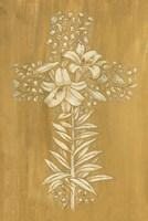 Holiday Cross IV Fine Art Print