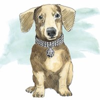 Glamour Pups IX Fine Art Print
