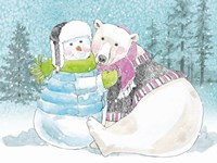 Polar Cap Friends III Fine Art Print