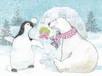 Polar Cap Friends II Fine Art Print