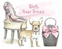 Glamour Pups VI Fine Art Print