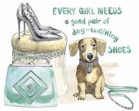 Glamour Pups V Framed Print