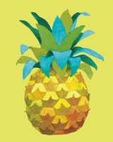 Island Time Pineapples IV Fine Art Print