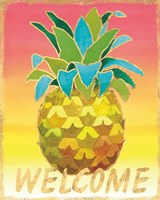 Island Time Pineapples V Fine Art Print