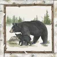 Family Cabin IV Fine Art Print