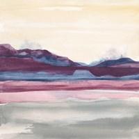 Purple Rock Dawn II Fine Art Print