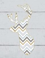 Floral Deer II Masculine Fine Art Print