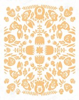 Otomi Rabbits Pastel Fine Art Print