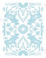 Otomi Moose Pastel Fine Art Print