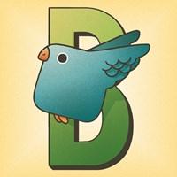 B is for Bird Fine Art Print