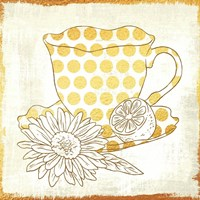 Chamomile Lemon Tea Fine Art Print