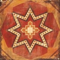 Moroccan Tiles Spice VII Fine Art Print
