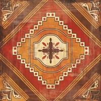 Moroccan Tiles Spice V Fine Art Print