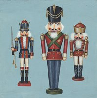 Soldier Nutcrackers Framed Print