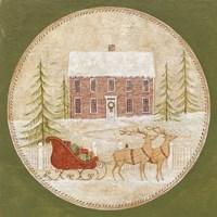 Santas Sleigh Fine Art Print