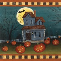 Halloween Eve Fine Art Print