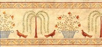 Willow Basket Border Fine Art Print