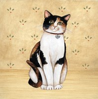 Country Kitty III Fine Art Print