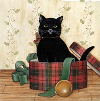 Christmas Kitty IV Fine Art Print