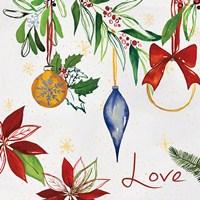 Watercolor Christmas II Fine Art Print