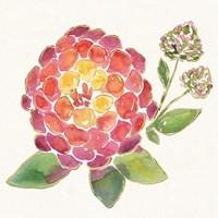 Tropical Fun Flowers II Fine Art Print