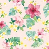 Tropical Fun Pattern VII Fine Art Print